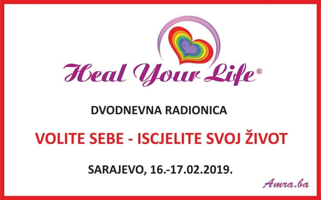Volite sebe – Iscjelite svoj život, Sarajevo,16.02.19.