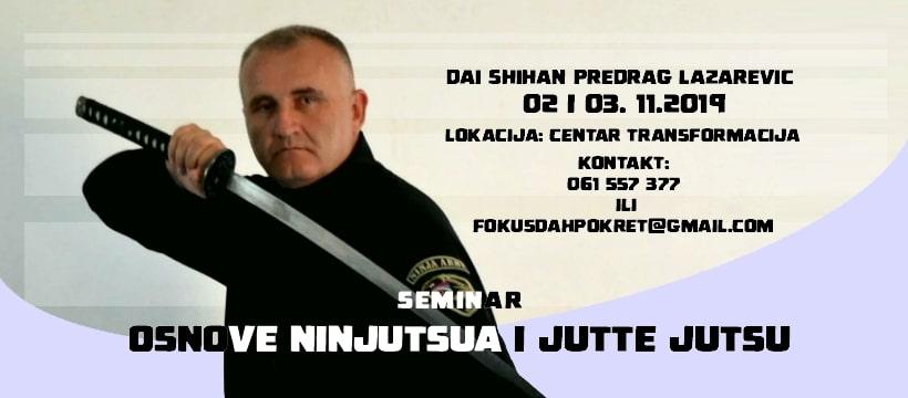 Ninđucu seminar u Sarajevu, 02. – 03. 11.19